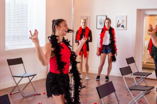 Workshop Burlesque in Scheveningen
